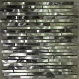 Teja moderna de aluminio estilo metal mosaico