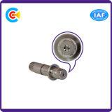 GB/DIN/JIS/ANSI aus rostfreiem Stahl/Kohlenstoffstahl Pan/4.8/8.8/10.9 galvanisierter Hexgon nichtstandardisierter Pin für Maschinerie/Industrie