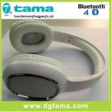 Cor sem fio deCancelamento do branco do auscultadores de Bluetooth do Headband aéreo de Bluetooth V3.0+EDR