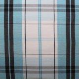 Garn gefärbtes Polyester-Gewebe-Fot Kleid 1