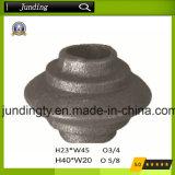 Roheisen/Stahlquadrat oder runde Muffen-bearbeitetes Eisen-Muffe/Unterseite