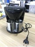 Creatore di caffè elettrico del creatore di caffè del gocciolamento di prezzi bassi con due tazze di corrispondenza