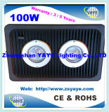 Luz caliente del túnel del reflector/100W LED de la MAZORCA LED de la venta 80With100W de Yaye 18 con la garantía 2/3/5 año