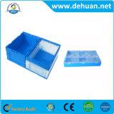 Caixa de armazenamento/escaninho de dobramento com de múltiplos propósitos