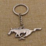 De Mustang Keychain van het Metaal van de Giften van de Bevordering van de douane voor Promotie