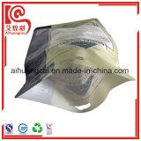 Ziplock plásticos de aluminio se levantan el bolso para el alimento de animal doméstico