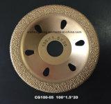 Disco de corte de diamante de 125 mm para moagem de peças de ferro fundido e perfil de metal