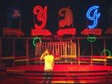 Parc d'attractions populaires de l'équipement platine Disco