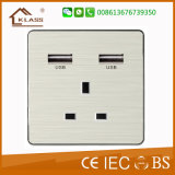 Switch Fabricant Good Design TV et Tel Socket Outlet