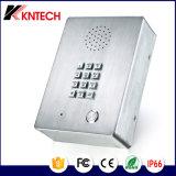 비상사태 금속 키패드 전화 엘리베이터 내부통신기