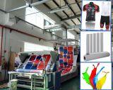 Haute qualité populaire Fbs 100GSM 1.118m Papier de sublimation rapide non-ondulé rapide pour polyester / tissus synthétiques mélangés