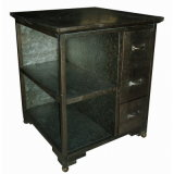 Antique Tin Furniture Cabinet Living Room Gabinete Metal Furniture