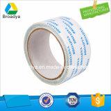 Il doppio ha parteggiato nastro del tessuto del nastro adesivo (110mic*1240mm*1000m/DTW-11)