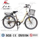 """City Ebike 250W Cadre en alliage d'aluminium 26 """"pour femme (JSL038A-2)"""