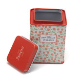 Regalo de navidad de latas/Metal/caja de caramelos de Tin Tin Box para embalaje de dulces