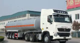 Reboque cúbico do tanque dos medidores de Sinotruk HOWO 50 50 toneladas de caminhão de tanque