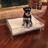 Novo Prémio Grande Personalizado Cama cão de estimação de acrílico