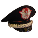 Kundenspezifischer Leutnant der Luftwaffen-zweite ragte Schutzkappe für Militäroffiziere empor