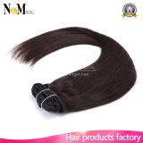 毛の拡張の毛の拡張140g 180g 220g 260g最も軽いブロンドの白いクリップの完全なヘッドクリップ