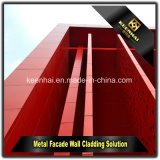 Панели отрезока лазера алюминиевые декоративные для заволакивания стены