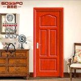 商業安いMDFの物質的なベニヤの木製のドア(GSP6-011)