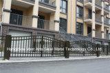 Haohanの良質の外部の機密保護の装飾的な錬鉄の塀のゲート4