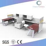 現代家具の木の事務机ワークステーション
