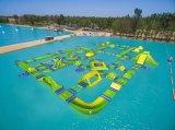 Parque inflável popular novo do lago 2018 para miúdos