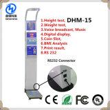 Dhm-15 Münzendigital Höhen-Gewicht-Schuppe