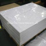 Strato rigido bianco stampabile del PVC del Matt per il tabellone per le affissioni