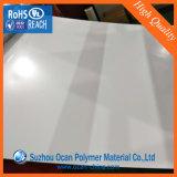 strato rigido del PVC di bianco lucido di 1mm per il comitato della mobilia