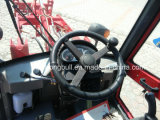 Mini chargeur Zl12f avec la cabine de luxe