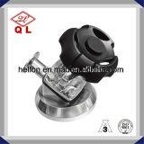 Valvola a diaframma saldata manuale della parte inferiore del serbatoio dell'acciaio inossidabile
