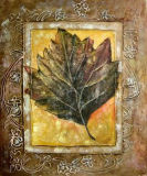 Huile sur toile abstraite 0113