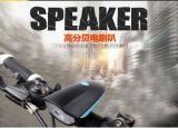 Lumière des accessoires 7588 de bicyclette de lumière de haut-parleur de la bicyclette DEL