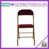 Chaise Pliante rembourré chaise empilable/hôtel/d'empilage de chaises de banquet