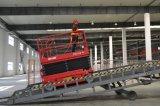 Les ciseaux Zs1212 hydrauliques soulèvent la plate-forme de travail aérien