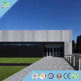 Materiales de construcción incombustibles del panel de las lanas de madera de la tarjeta del techo del panel de pared