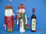 Caja de regalos de papel de Santa y del muñeco de nieve (YCWL09023AB)