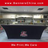 4 pieds de 100 % polyester monté capot table