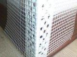 Esquina del grano con el acoplamiento de la fibra de vidrio