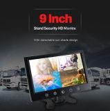 4ビデオ入力が付いているバックアップモニタ1年の保証9inch車の