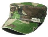 粉砕の洗浄された苦しめられたプリントカムフラージュの軍隊の軍の帽子(TRNM022)