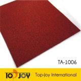 Moquette rouge de pieux flexibles moquette de bureau