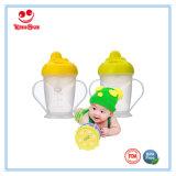 tazza bevente del bambino di plastica in buona salute 180ml con le maniglie