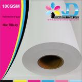 papel de transferencia de la sublimación 100GSM para la impresión de Digitaces