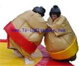 Sumo苦闘するスーツ