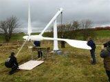 Precio 5kw del generador de viento con el regulador y el inversor para el plan completamente en-Grid