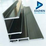6063 Profil en aluminium extrudé en alliage en aluminium pour porte coulissante et châssis de fenêtre