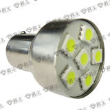 Lámpara del coche del LED/luz de freno auto de la cola de la luz/del coche del LED S25-6SMD-5050 (1156 1157)